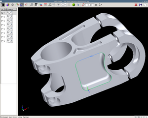 DXF converter – Importing contours and machining options from DXF files